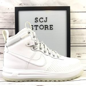 Nike Lunar Force 1 Duckboot - White Men's Size 8